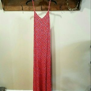 NWOT Floral Maxi Dress
